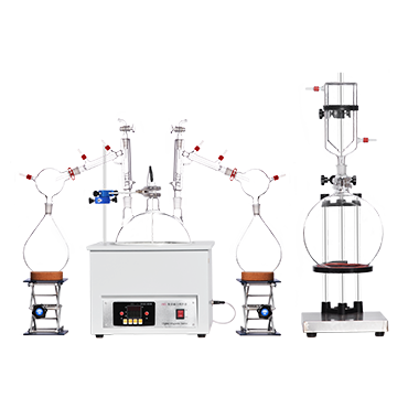 实验室大麻精油提取短程分子蒸馏 精油蒸馏设备